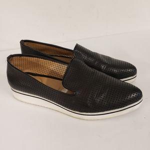 Franco Sarto Black Slip-ons Size 8.5
